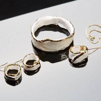 Atelier Hlavina: Zlato biela sada - Čisáriková Táňa