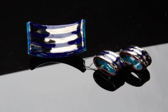 Atelier Hlavina: Blue - Platinum Set - Čisáriková Táňa