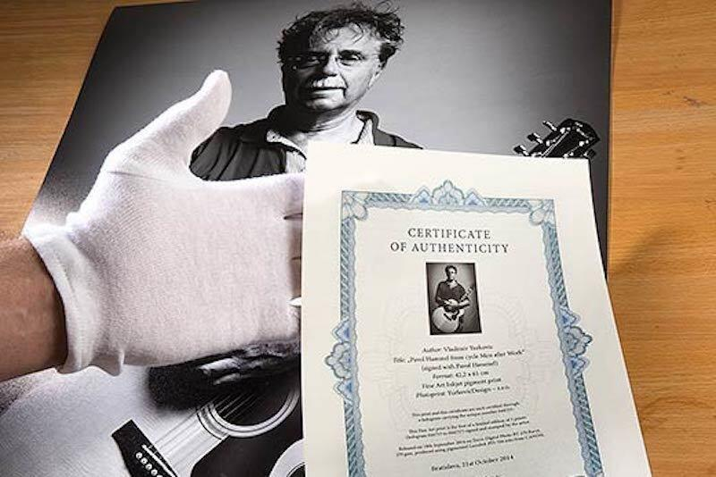 Atelier Hlavina - Certifikácia umenia