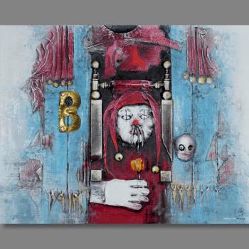 Atelier Hlavina: Šašo ťahá dámou na E77 - Hieroným Balko