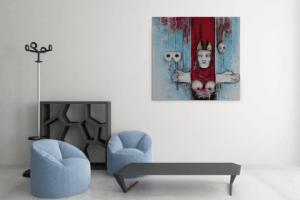 Atelier Hlavina: Dámsky gambit – Hieroným Balko – interiér