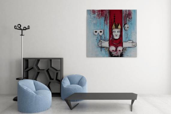 Atelier Hlavina: Lady's Gambit - Hieroným Balko - interier