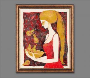 Atelier Hlavina: Girl with bowl – Milena Ďuricová