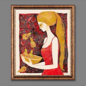 Atelier Hlavina: Girl with bowl - Milena Ďuricová