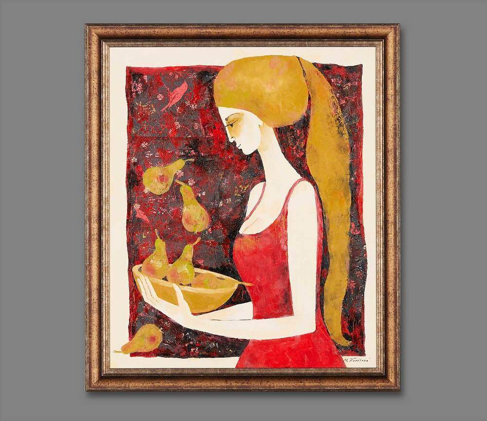 Atelier Hlavina: Girl with bowl - Milena Ďuricová