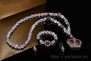 Atelier Hlavina: Jewel – violet – Ivett Axamitová