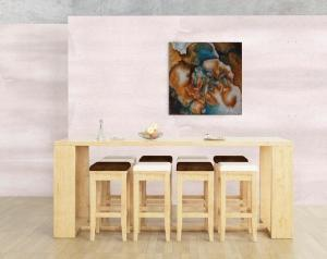 Atelier Hlavina: Blue Secrets – Lucia Dušová – interier