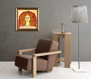 Atelier Hlavina: Muse of autum – Milena Ďuricová – interier