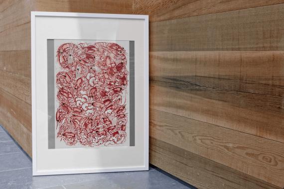 Atelier Hlavina: Pink tastes - Shrimp - Hieroným Balko - interier
