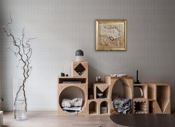 Atelier Hlavina: Pocit anjela - Ivett Axamitová - interiér