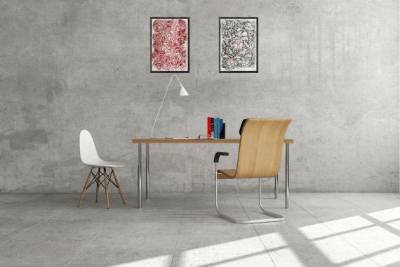 Atelier Hlavina: Ružové chute-mušle - Hieroným Balko - interiér