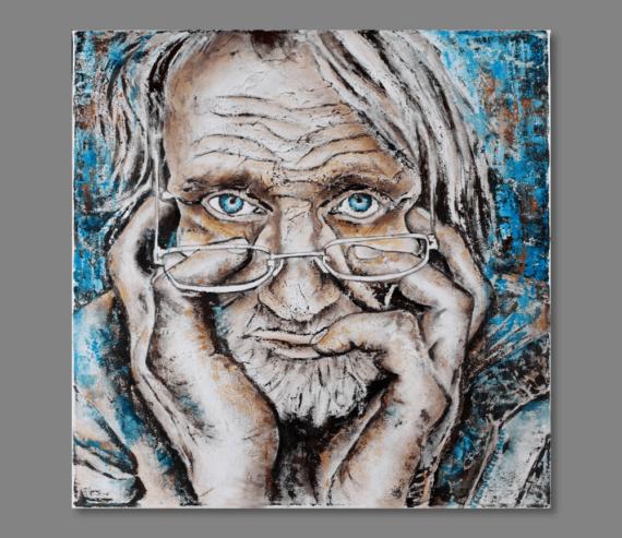 Atelier Hlavina: The Old Man - Lucia Dušová