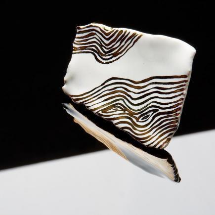 Atelier Hlavina: Zlato biela Brošňa - Čisáriková Táňa