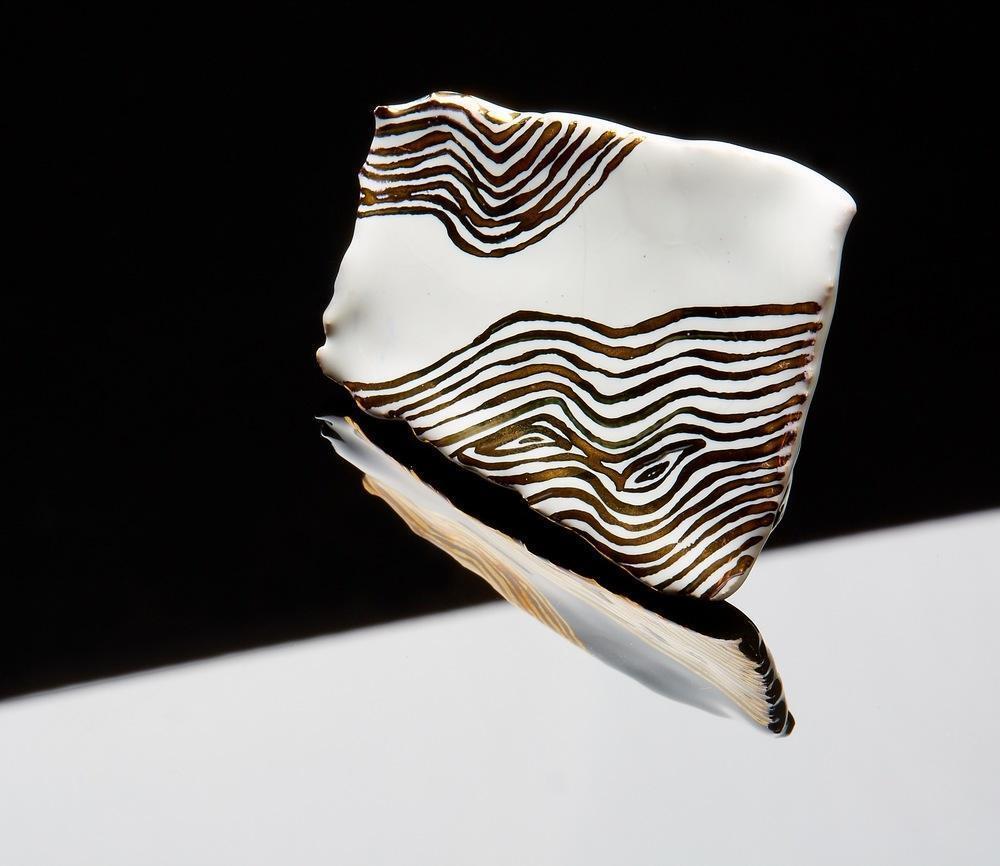 Atelier Hlavina: White Gold, Broocha – Čisáriková Táňa