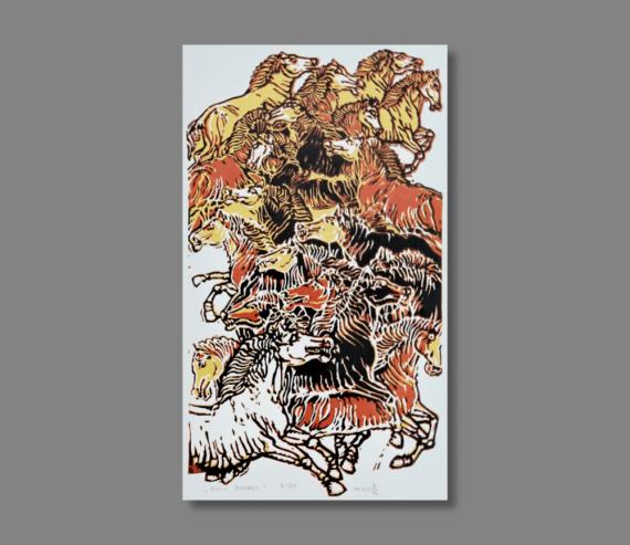 Atelier Hlavina: Biely žrebec - Hieroným Balko