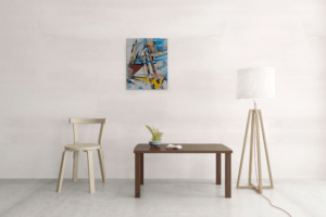 Atelier Hlavina: Yellow road – Hieroným Balko – interier