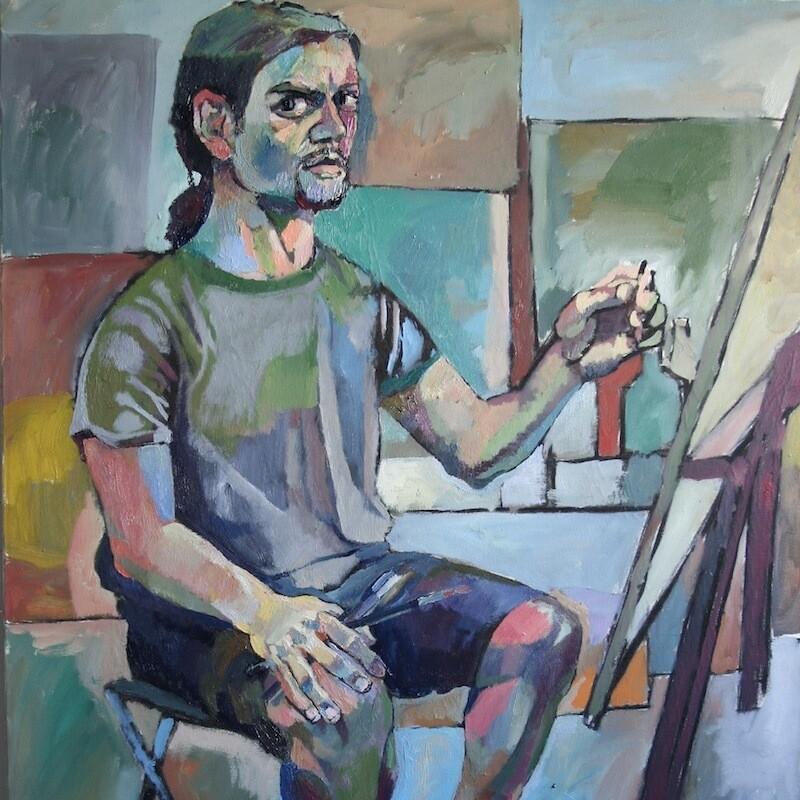 Chudoba František Autoportrét