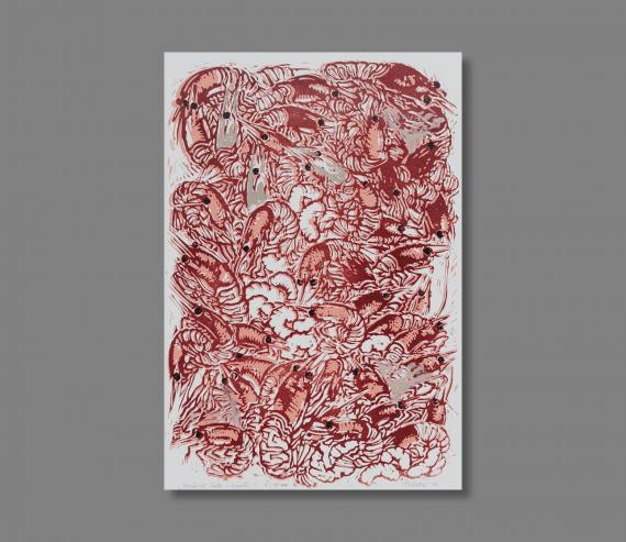 Atelier Hlavina: Ružové chute-krevety - Hieroným Balko