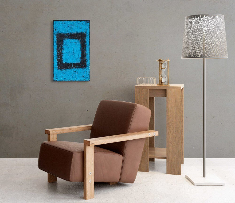 Atelier Hlavina: Black rectangle- Svoboda Jan - interier