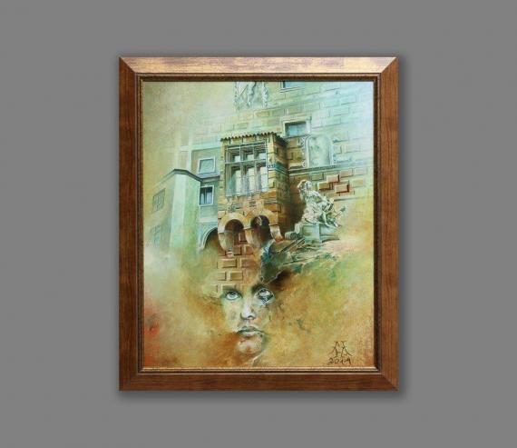 Atelier Hlavina: Čriepky z Krumlovského zámku - Hric Milan