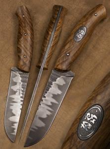 Atelier Hlavina: Forged knife 01 – Miloš Gnida