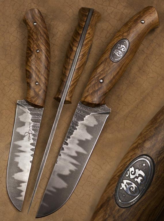 Atelier Hlavina: Forged knife 01 - Miloš Gnida