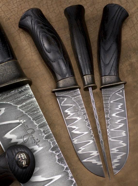 Atelier Hlavina: Kovaný nôž 02 - Miloš Gnida
