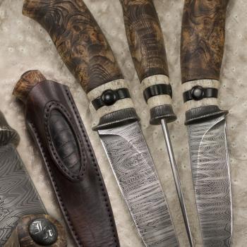 Atelier Hlavina: Forged knife 06 - Miloš Gnida