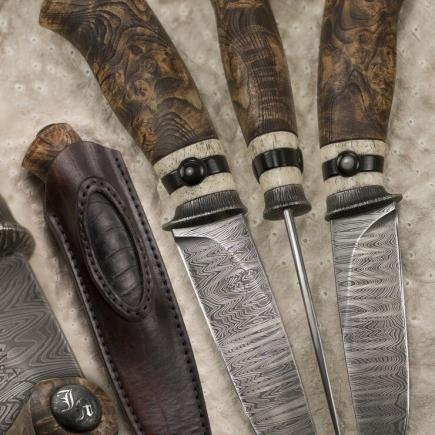 Atelier Hlavina: Kovaný nôž 05 - Miloš Gnida