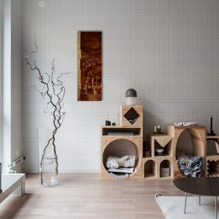 Atelier Hlavina: City at dusk - Kišac Daniel - interier