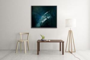 Atelier Hlavina: Blue Divertimento  – Jiří Holan – interier