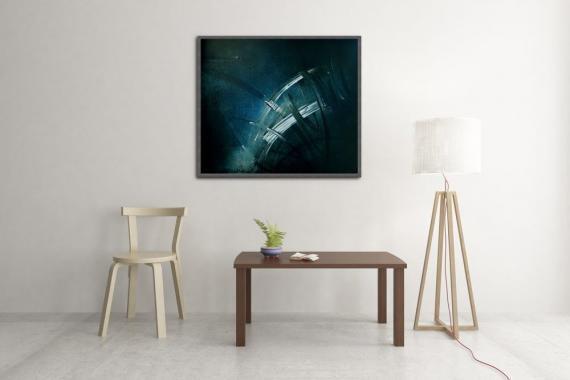Atelier Hlavina: Blue Divertimento  - Jiří Holan - interier
