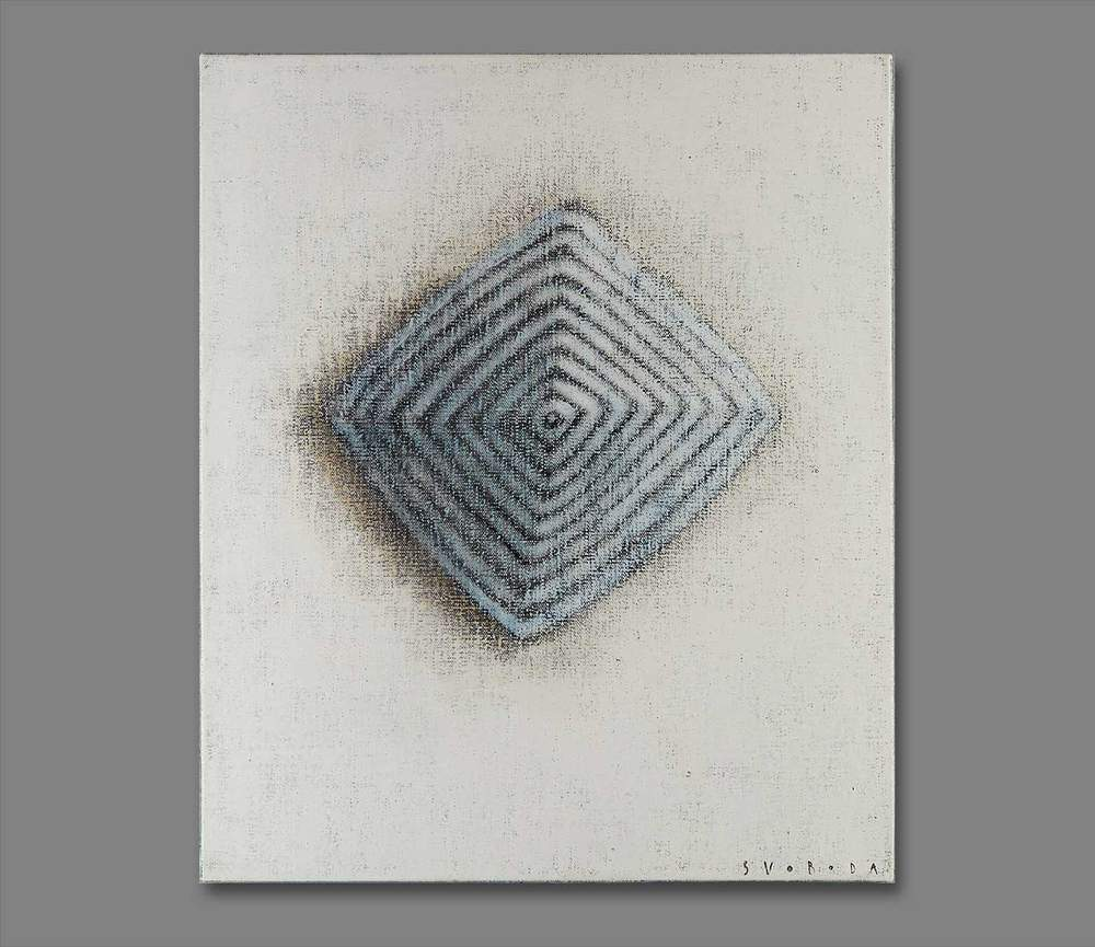 Atelier Hlavina: Blue pyramid - Svoboda Jan