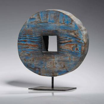 Atelier Hlavina: Modrý průhled (čtverec) - Svoboda Jan
