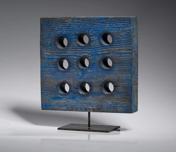 Atelier Hlavina: Modrý průhled (devět děr) - Svoboda Jan