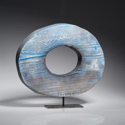 Atelier Hlavina: Modrý průhled (kruh) - Svoboda Jan