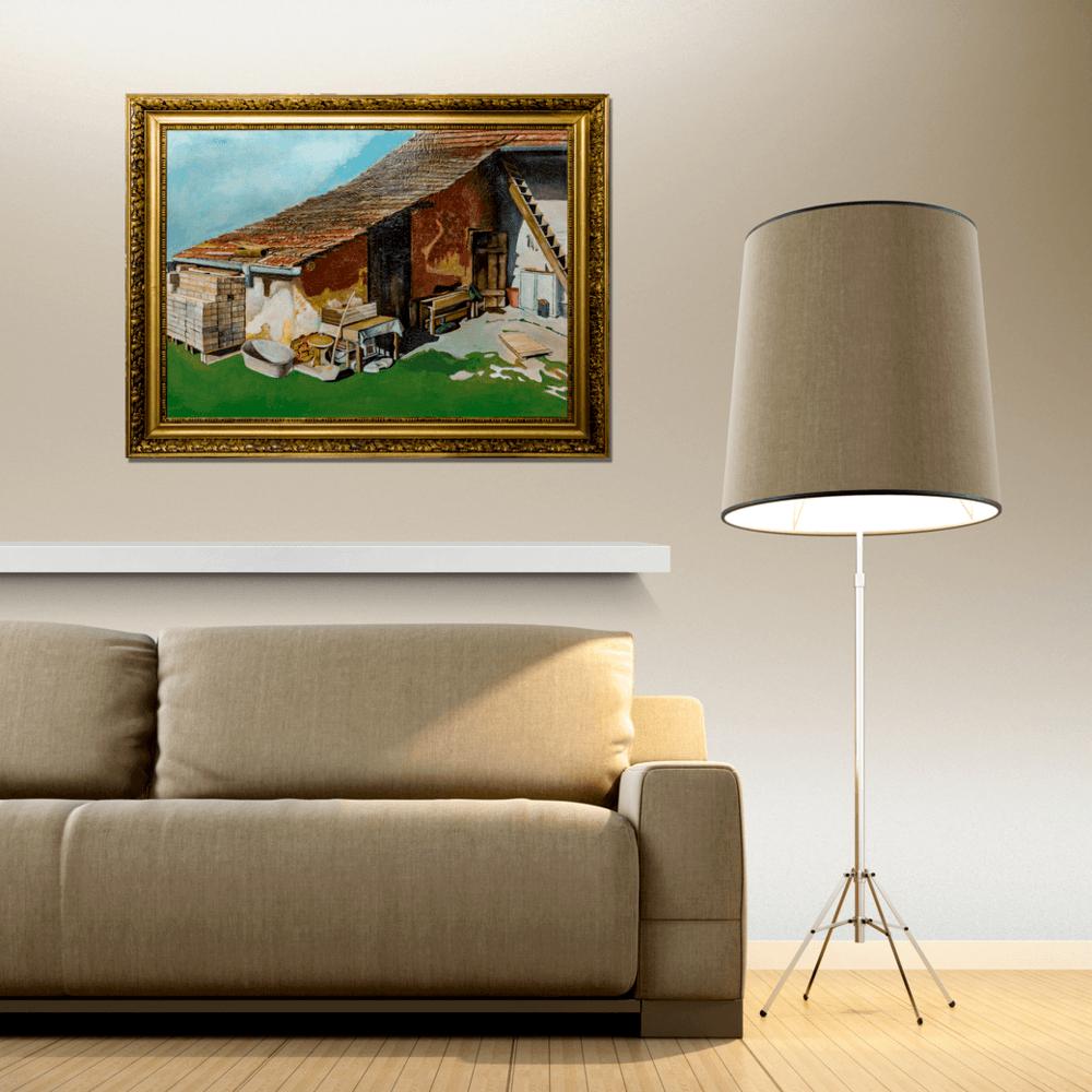Atelier Hlavina: Somewhere in the yard - Kišac Daniel - interier