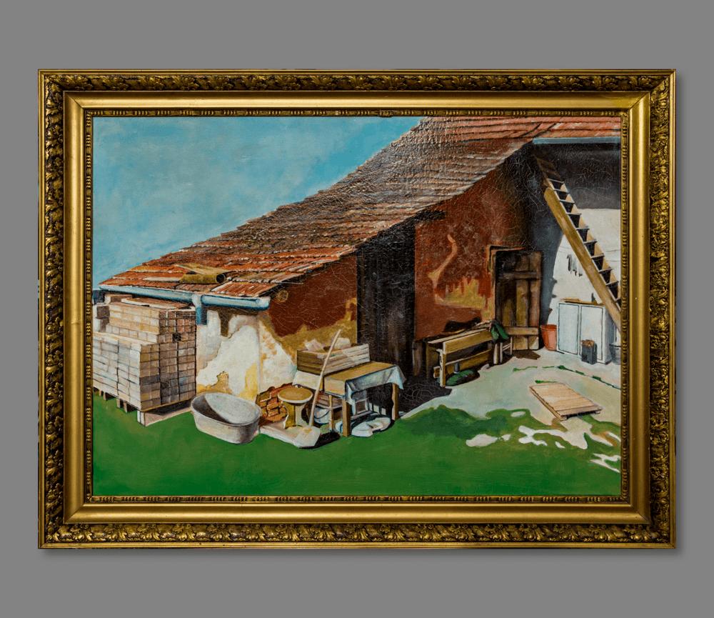 Atelier Hlavina: Somewhere in the yard – Kišac Daniel