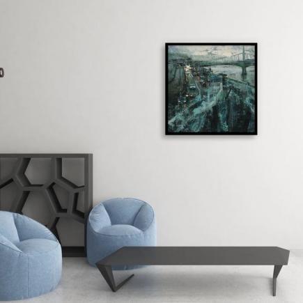 Atelier Hlavina: Nocturne- Nagy Tibor - interier