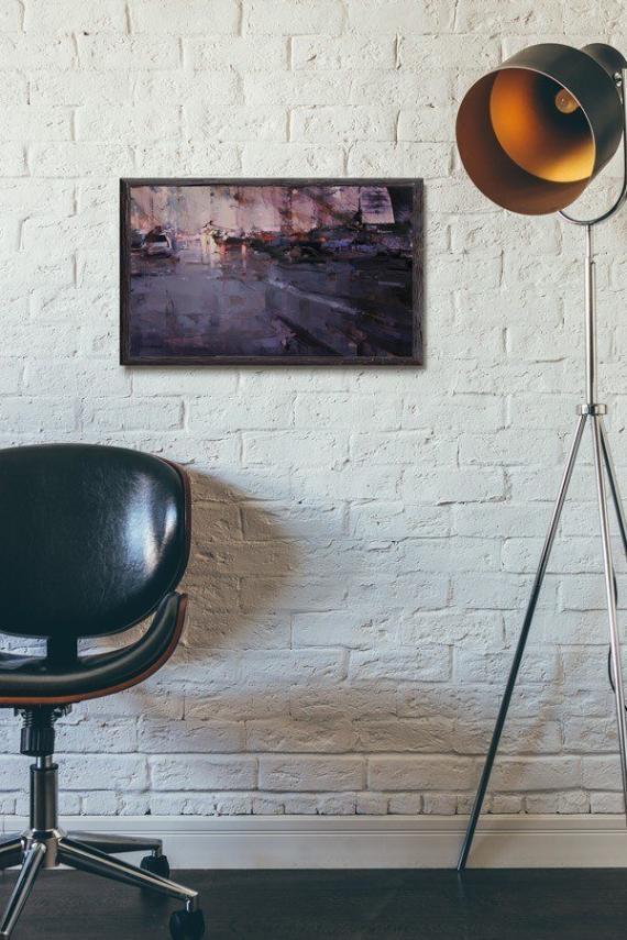 Atelier Hlavina: Padajúce nebo- Nagy Tibor – interier