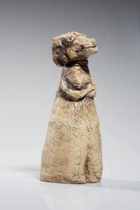 Atelier Hlavina: Pes s ružovým obojkom – Horváthová Mária