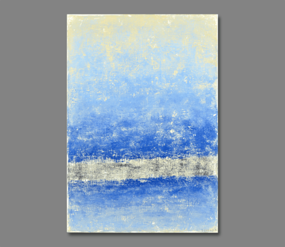Atelier Hlavina: Pruh v modré - Svoboda Jan