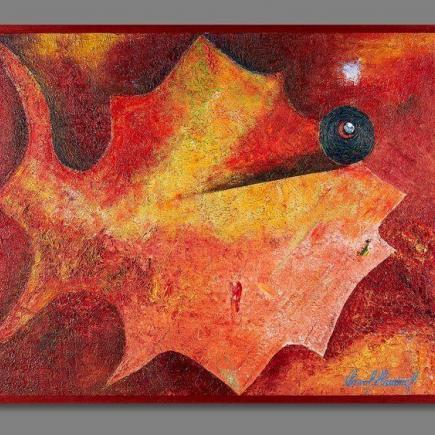 Atelier Hlavina:  Autumn herbarium fish - Jesenná - Pavol Hammel