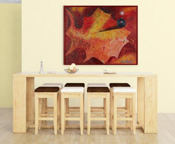 Atelier Hlavina: Ryba z herbára - Jesenná - Pavol Hammel - interier