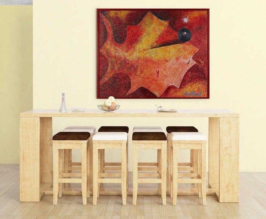 Atelier Hlavina:  Autumn herbarium fish - Jesenná - Pavol Hammel - interier