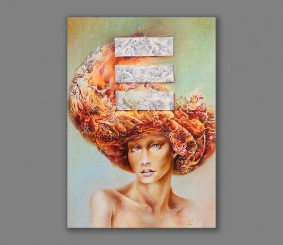 Atelier Hlavina: Redhead Girl - Hric Milan