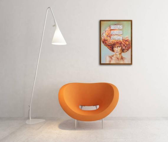 Atelier Hlavina: Redhead Girl - Hric Milan - interier