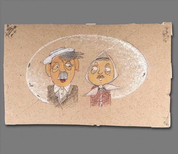 Atelier Hlavina: Sto rokov spoločnej samoty (originál)- Naglik Hana