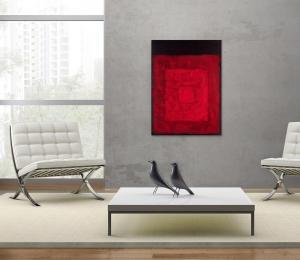 Atelier Hlavina: Three red – Svoboda Jan – interier