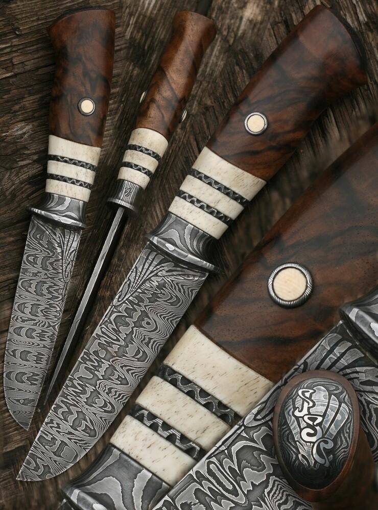 Atelier Hlavina: Forged knife 05 – Miloš Gnida